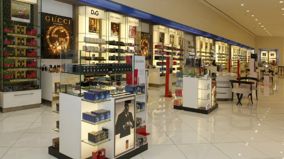 The interior of a Paris Gallery store in Dubai. The firm