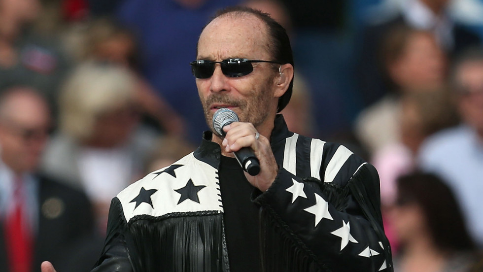 Lee Greenwood is a Romney supporter, and performed at a Romney rally last week.