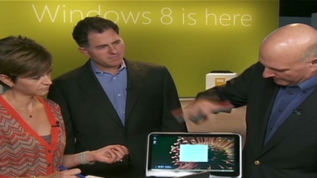 Microsoft launches Windows 8, new tablet