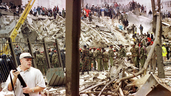 Mathiu says there was an outpouring of sympathy for America when al Qaeda bombed the U.S. embassy in Nairobi in 1998 -- but that the support has not been reciprocated in Kenya's current struggle with Al-Shabaab.