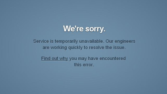 "Popular blogging site Tumblr was down for many users Friday, experiencing ""slow loading or intermittent errors."""