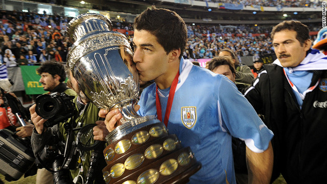 Luis Suarez's Uruguay won the 2011 Copa America, but will he be playing in the U.S. in 2016?