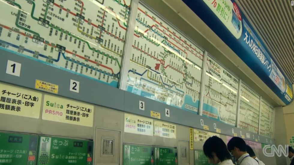 The rail and subway network within the Japanese capital is a vast system with 17 lines in total -- 13 of which make up the city's subway.