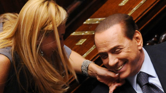 Rumors about the 76-year-old Berlusconi