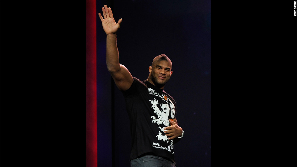 At 6-foot-5 and 260 pounds, Alistair Overeem is known for putting mixed martial arts star Brock Lesnar into early retirement. Ahead of a heavyweight title match against UFC champion Junior dos Santos in May, Overeem tested positive for elevated levels of testosterone and was yanked from the card.