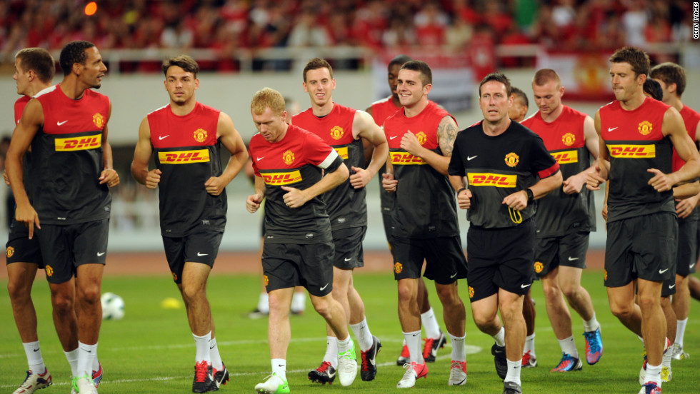 Manchester United agreed a $64 million  training kit sponsorship deal with DHL in 2010, but ended it two years later, paying the money back, because it was able to negotiate a bigger deal with AON.