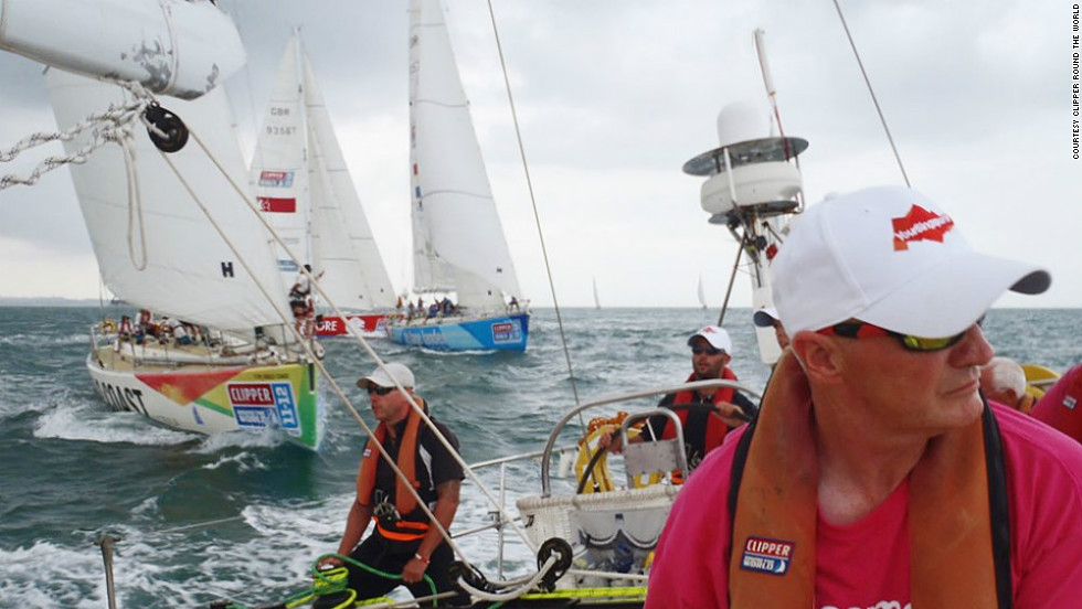 More than 500 amateur sailors took part earlier this year, with the choice of joining for one of eight legs or the full circumnavigation. Recruiting is now on for next year's race, starting in July 2013.