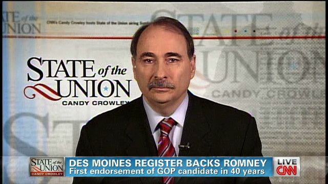 Axelrod: Storm makes campaigning harder