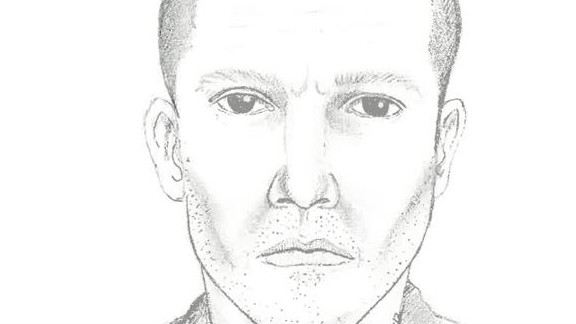 Police issued a composite of a suspect in the shootings in Michigan