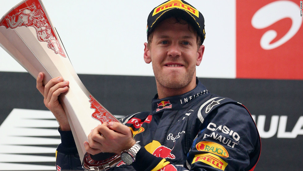 Webber is very much the understudy to double world champion Sebastian Vettel, who is seemingly on his way to a third consecutive world title.