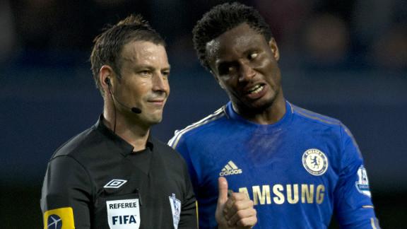 Just last week Chelsea