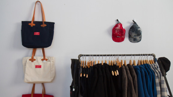 Penelope's pop-up boutique displays a variety of American-made brands at NorthernGRADE. The Chicago retail store recently expanded its offerings of American-made products based on customer demand.