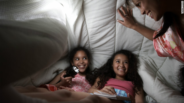 Kids can build a fort to take their minds off missing Halloween festivities.