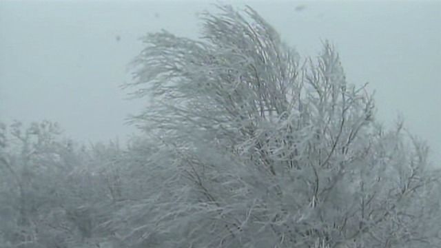 Sandy blows snow into N.C. mountains