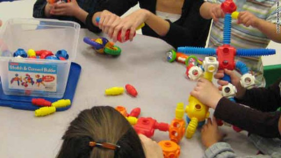 "An intervention program called ""Early Start Denver Model"" emphasizes play therapy for very young children with autism."