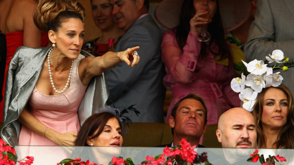"""Sex and the City"" star Sarah Jessica Parker at last year"