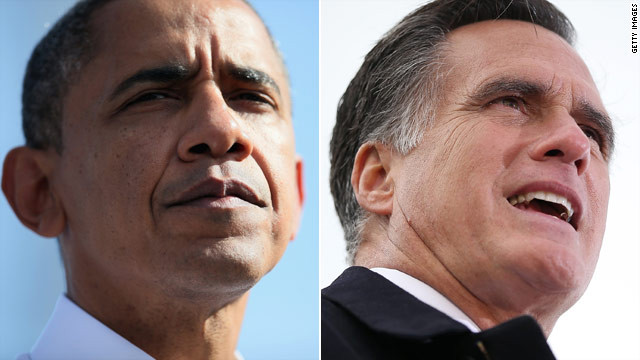 Romney, Obama make final push for votes