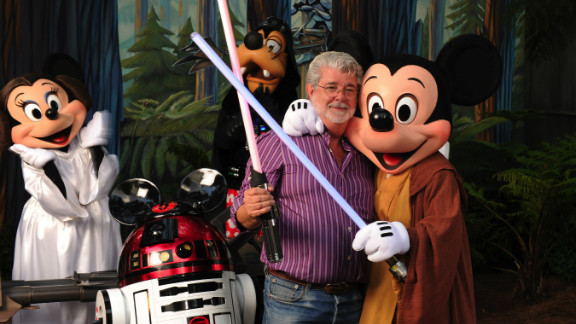 """Star Wars"" creator George Lucas meets a group of ""Star Wars""-inspired Disney characters at Disney's Hollywood Studios theme park in 2010. Click through and see what the original cast is up to now:"