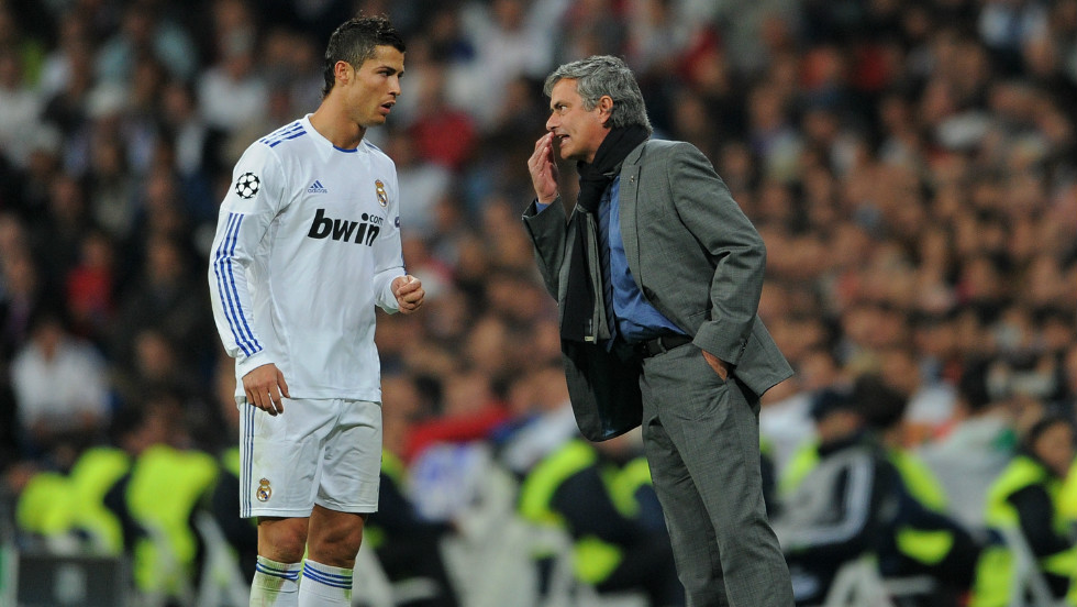 "Ronaldo has nothing but praise for Real coach Jose Mourinho: ""Well, my relationship with him is perfect. I don't ask for nothing better. In terms of coaching I'm sure 100%... 200% that he is the best. He shows every country who's the best because he wins all the leagues."""