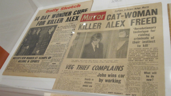 """Kubrick insisted on attention to detail, as these realistic prop newspapers from """"A Clockwork Orange"""" illustrate."""