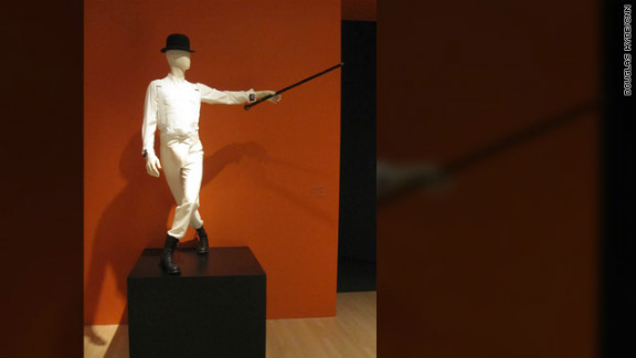 """The costume for """"Alex,"""" the lead character -- and violence-prone delinquent -- in """"A Clockwork Orange."""""""
