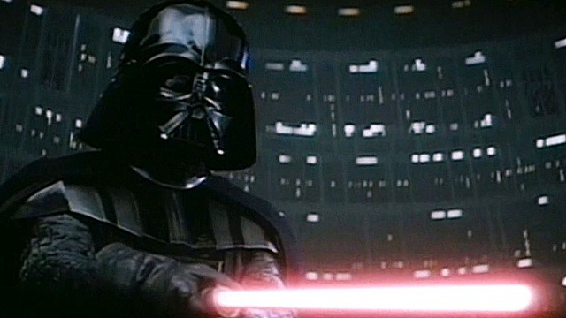 Darth Vader wields a lightsaber. Scientists have created molecules that behave a bit like the matter in the fictional weapons.
