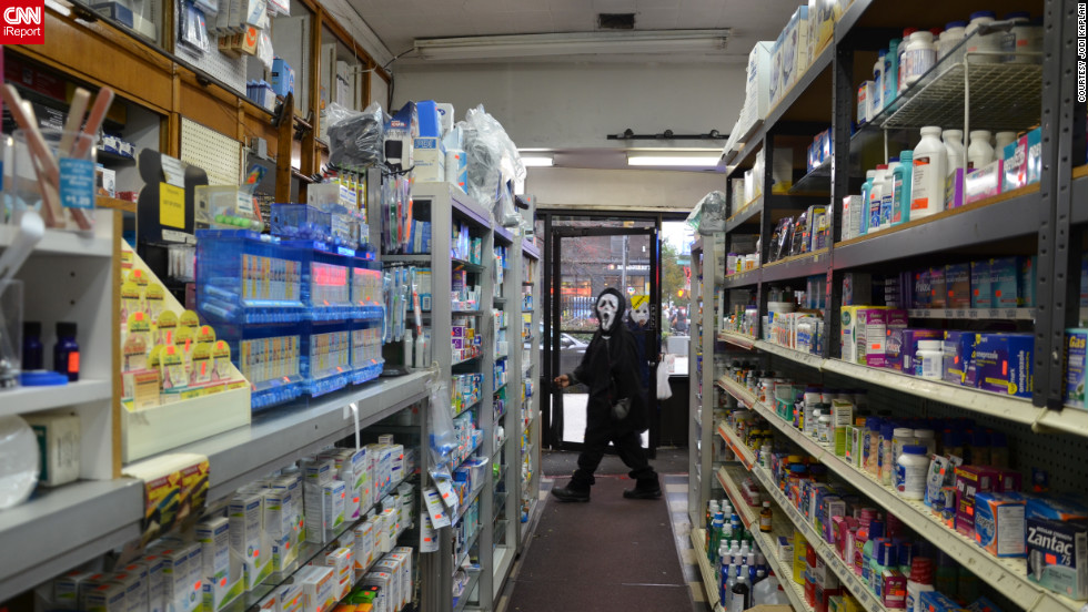 "Many stores in the city ran out of candy during Halloween, <a href=""http://ireport.cnn.com/docs/DOC-870057"">Kaplan</a> and other iReporters said."
