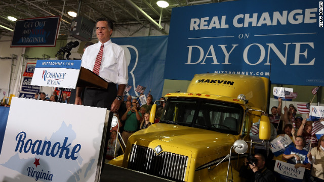 Romney Statement On Jobs Report >> A Romney presidency: 'Bringing people together' faces reality check - CNNPolitics