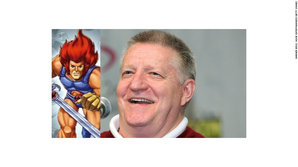 "Larry Kenney is the booming voice who got kids' imaginations going by exclaiming, ""Thundercats, ho!"" Yes, he was Lion-O on the original 1980s ""Thundercats."""
