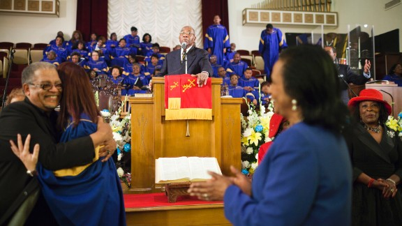 Brown is now pastor at Third Baptist Church in San Francisco, referred to as the Ebenezer of the West.