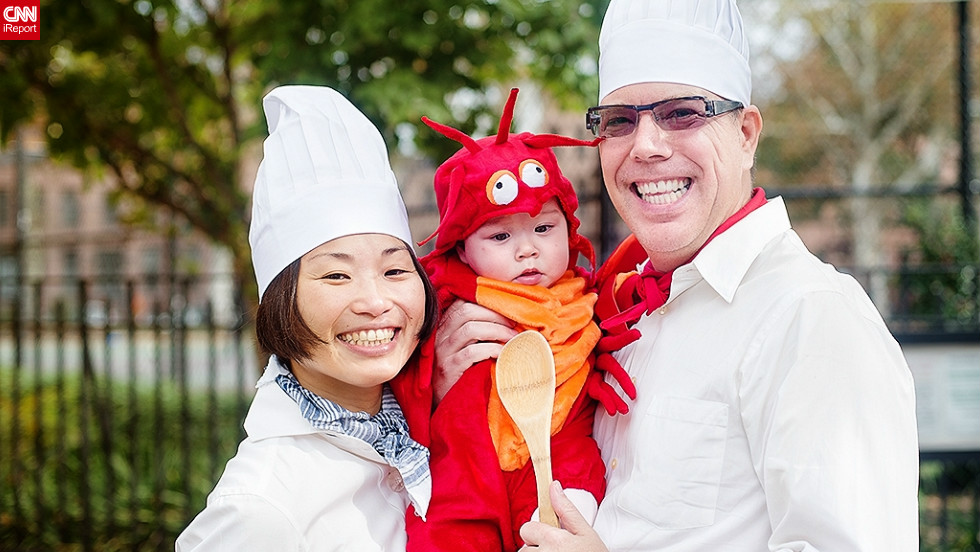 "When <a href=""http://ireport.cnn.com/docs/DOC-869511"" target=""_blank"">Ignacio Ayestaran</a> decided to dress his little daughter Mai as a lobster, he wasn't quite ready for the backlash that ensued. ""Grandmas and even the babysitter were really opinionated in that I should have gotten her something cute such as a butterfly, or a bear, but I wanted something a little less mainstream and being the foodies that we are we decided on the lobster costume. Mai didn't seem to mind,"" said Ayestaran."