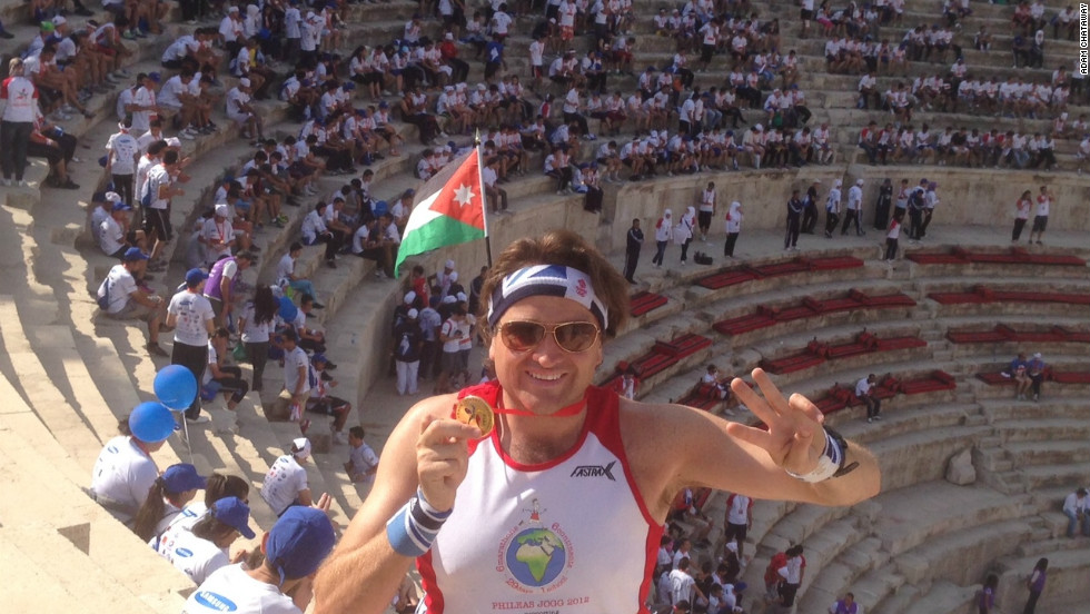 To tick Asia off his list, Chataway took part in the Amman Marathon in Jordan just five days later.