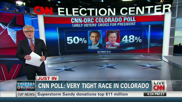 CNN poll: very tight race in Colorado