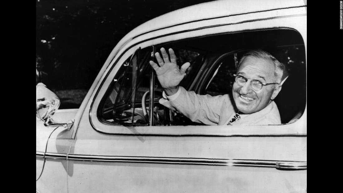 "Harry Truman, the 33rd president, enjoyed<a href=""https://www.trumanlibrary.org/lifetimes/citizen.htm"" target=""_blank""> quick-paced daily walks</a>."