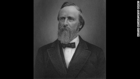 Rutherford B. Hayes' election as president also marked the end of Reconstruction in the South.
