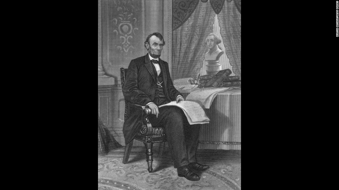"<a href=""http://www.cnn.com/2015/06/18/us/gallery/tbt-abraham-lincoln-portraits/"">Abraham Lincoln</a> is widely thought to have suffered from depression."