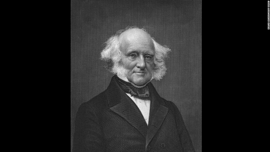 Martin Van Buren (1837-1841) was the first President to be born a U.S. citizen. Previous Presidents were born before the United States was a country, making them colonists and, consequently, citizens of Great Britain.