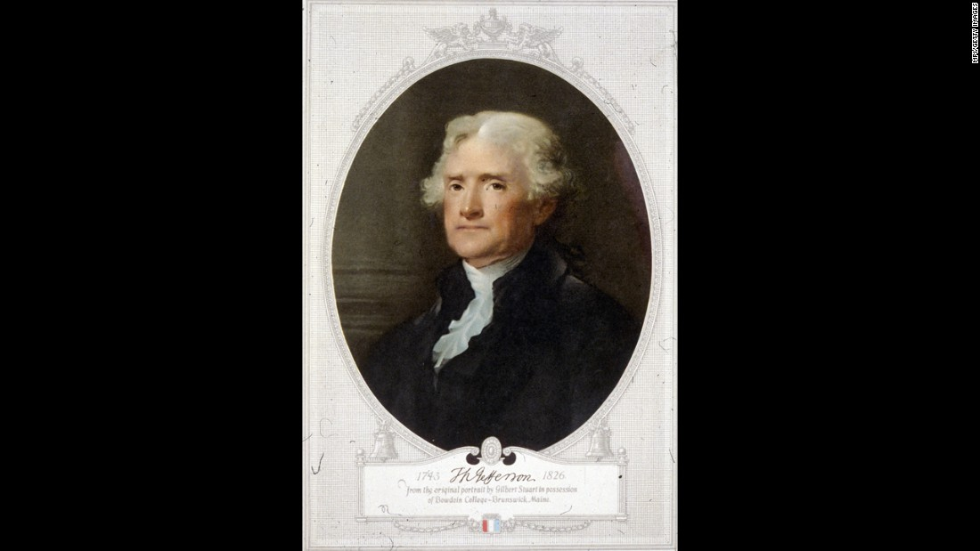 "Thomas Jefferson, the third president, developed a taste for <a href=""https://www.loc.gov/exhibits/treasures/tri019.html"" target=""_blank"">French cuisine</a> and <a href=""https://www.loc.gov/exhibits/treasures/tri034.html"" target=""_blank"">vanilla ice cream</a> and grew a vast <a href=""https://www.monticello.org/site/house-and-gardens/jefferson-scientist-and-gardener"" target=""_blank"">vegetable garden</a>."