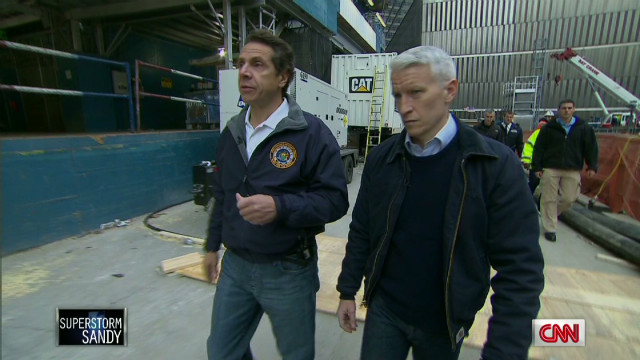 Cuomo: 9/11 museum filled with water