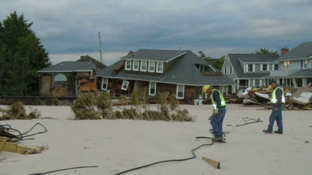 Sandy stirs up gas leaks in New Jersey