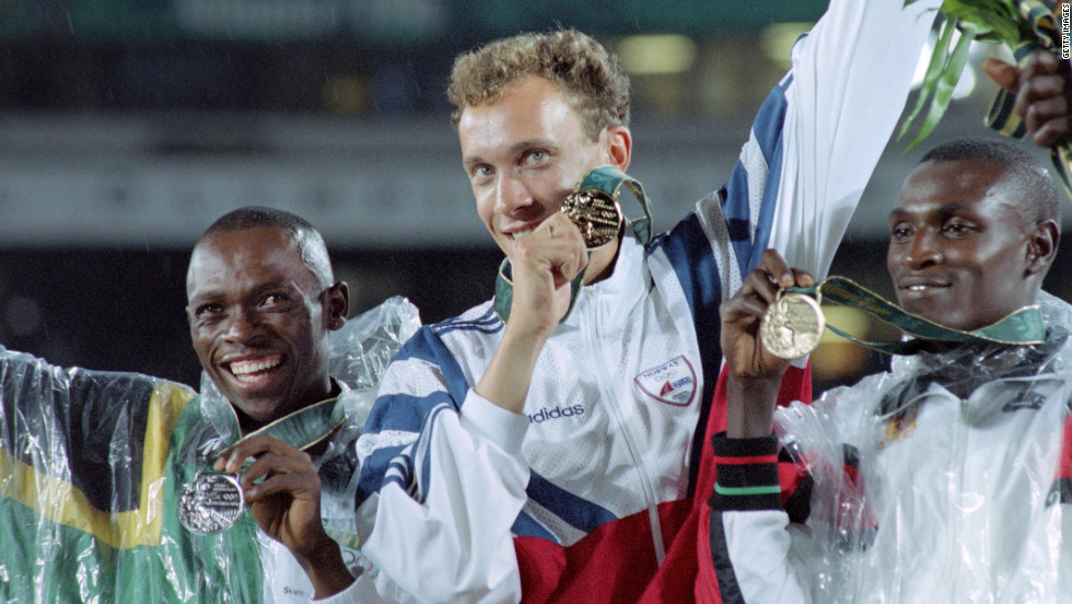 "Cycling is far from the only sport with a doping problem. South African runner Hezekiel Sepeng (left), who won silver in the 1996 Olympic 800m final but was later banned for using an anabolic steroid, now says dopers are like ""thugs, stealing from those who are clean and taking their opportunity."" He currently coaches aspiring youngsters in his homeland."