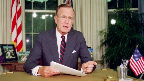 George H. W. Bush was diagnosed with Grave