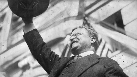 Theodore Roosevelt suffered from asthma and was blind in one eye as the result of a boxing injury in 1905. He was also deaf in one ear.     The 2006 study by Duke psychiatrists applied today