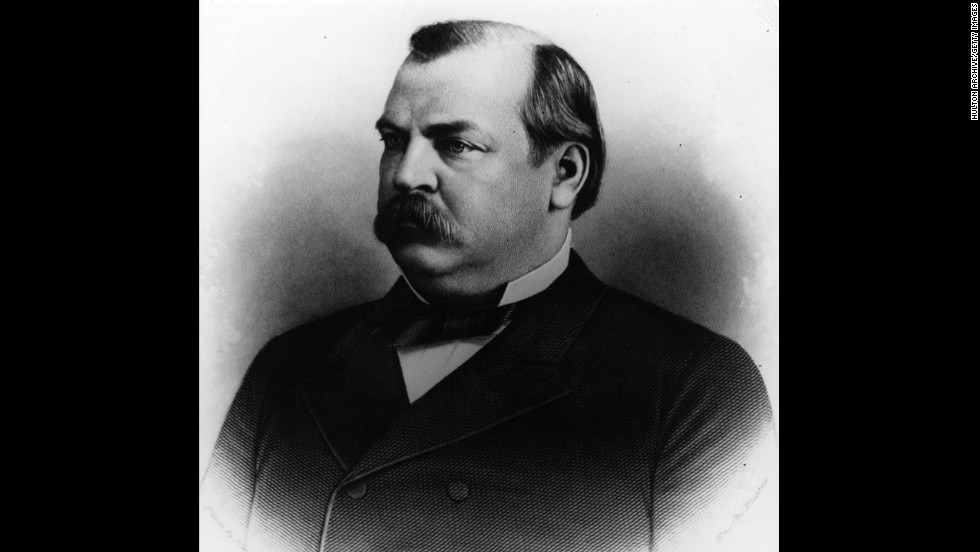 Grover Cleveland (1885-1889; 1893-1897) was the first and only commander-in-chief to serve two non-consecutive terms. He was also the first bachelor President to be married at the White House.