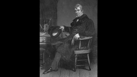 William Henry Harrison battled with dyspepsia and indigestion. Before he had been in office a month, he caught a cold that developed into pneumonia. On April 4, 1841, he became the first president to die while in office.