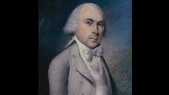 """James Madison, the fourth President (1809-1817), was nicknamed the """"Father of the Constitution."""" During his presidency, the first formal declaration of war was enacted -- the War of 1812 with Great Britain."""