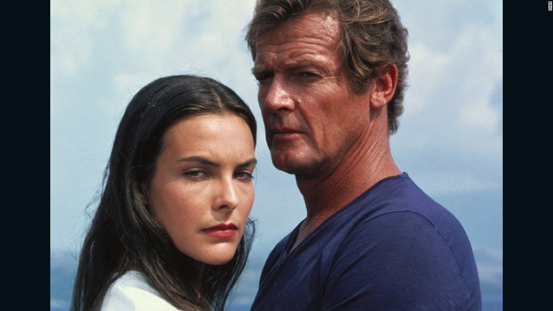 "After witnessing her parents' assassination, Carole Bouquet's Melina Havelock teams up with Bond and eventually saves his life. Instead of donning an iconic bikini, Havelock bares it all to go skinny-dipping with 007 in 1981's ""For Your Eyes Only."""