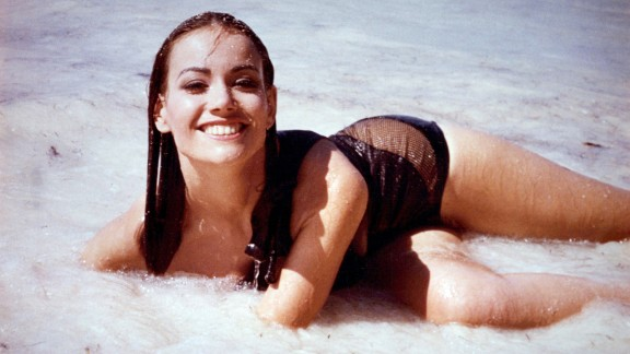 After Bond saved Domino Derval, played by Claudine Auger, from drowning in 1965