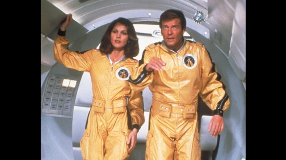 Space scientist/astronaut/CIA agent Holly Goodhead, played by Lois Chiles, flies with Bond to Drax