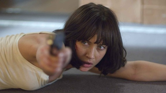 """Olga Kurylenko played Camille Montes in """"Quantum of Solace."""" The former Bolivian agent is first seen in Bond"""